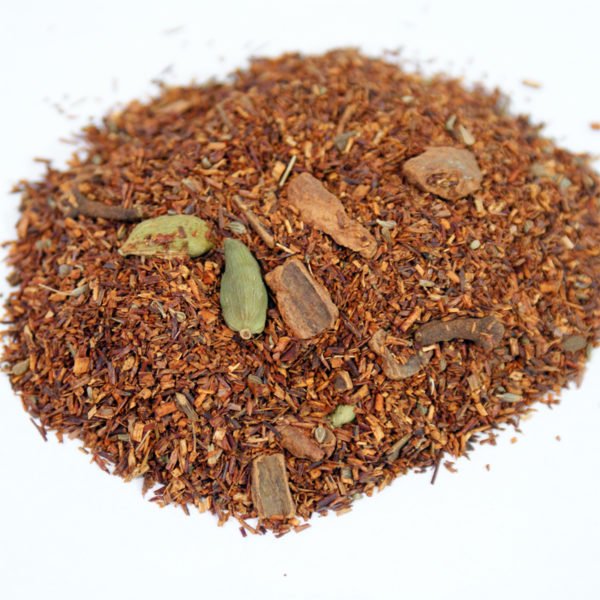 rooibos chai from alpha red tea